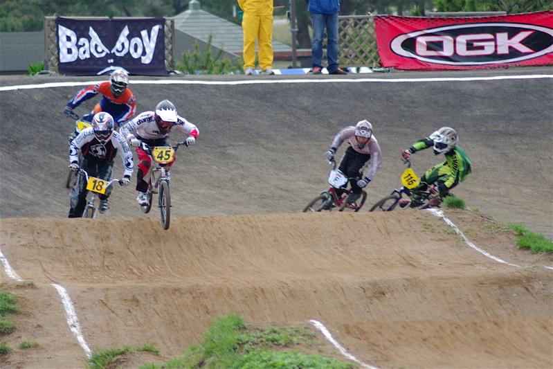 2008JBMXF全日本BMX選手権大会INひたちVOL14MEN17~29、30オーバークラス決勝_b0065730_19341693.jpg