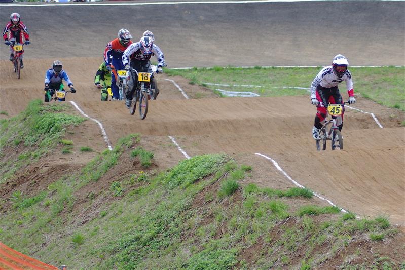 2008JBMXF全日本BMX選手権大会INひたちVOL14MEN17~29、30オーバークラス決勝_b0065730_19342881.jpg