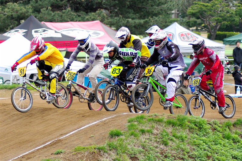 2008JBMXF全日本BMX選手権大会INひたちVOL14MEN17~29、30オーバークラス決勝_b0065730_1943189.jpg