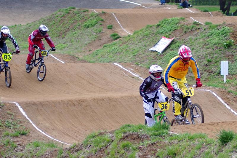 2008JBMXF全日本BMX選手権大会INひたちVOL14MEN17~29、30オーバークラス決勝_b0065730_1947239.jpg