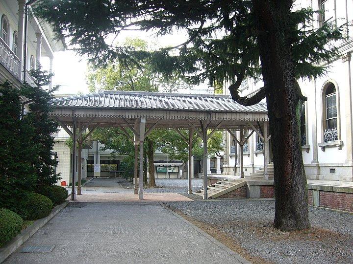 龍谷大学大宮学舎渡り廊下