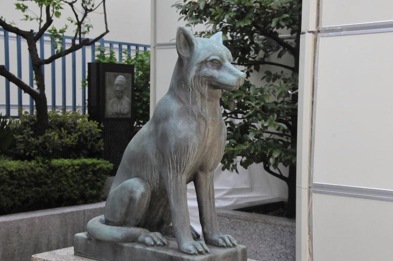 御嶽神社の狛犬@宮益坂_d0056382_9152785.jpg