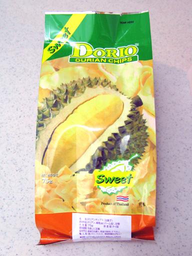 ドリアンチップス, durian chips