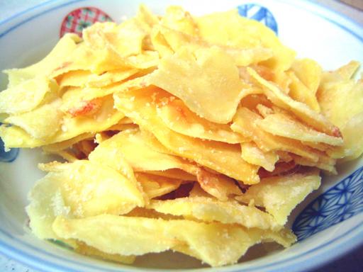 ドリアンチップス中身, durian chips