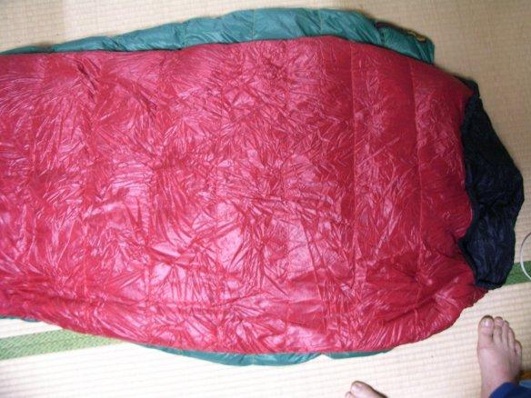 GoLite 40°F Feather Lite Sleeping Bag _e0024555_9421286.jpg