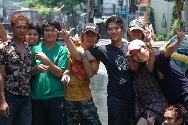 タイの水掛祭り ソンクラーン'08 (2)_b0131470_0355145.jpg