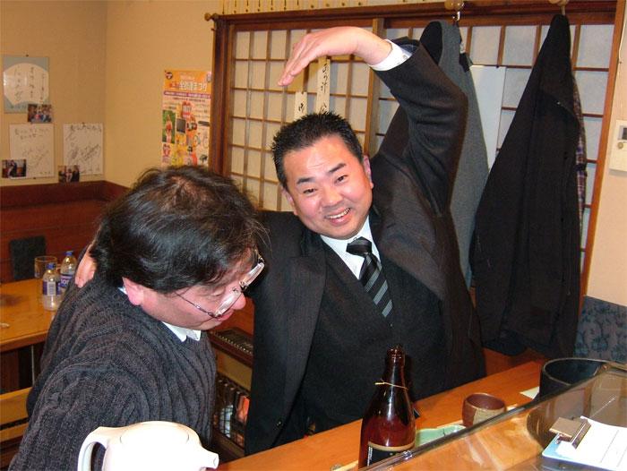Chikahachiっつぁん! 「ウニへの道 完結編」_c0110051_95234.jpg