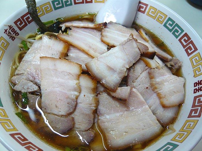 「チャーシュー麺」 ジャパンラーメン高嶋 @ 飾磨_e0024756_4343439.jpg