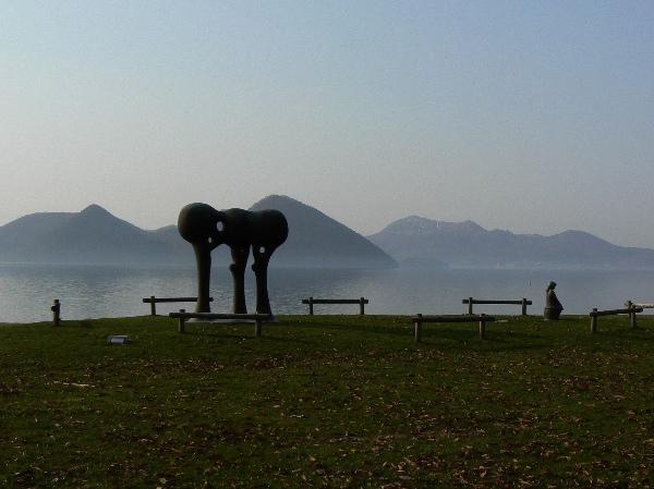 洞爺湖の彫刻(1/3)_b0068572_7455153.jpg