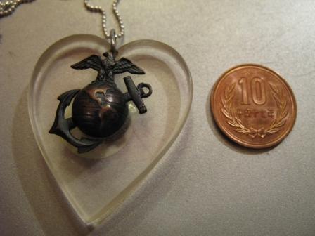 U. S マリンコープ SWEET HEARTS ペンダント!_c0144020_18211967.jpg