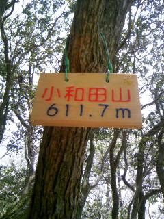 小和田山…とても良いお天気でした (^-^)v ♪ ♪ ♪_f0061067_1827164.jpg