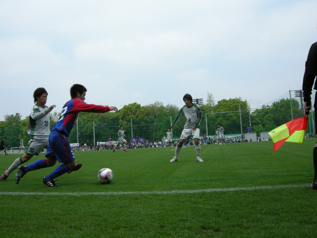 JFAプリンスリーグU-18関東 2008 FC東京U-18 2-1 東京ヴェルディユース_e0039513_1246935.jpg