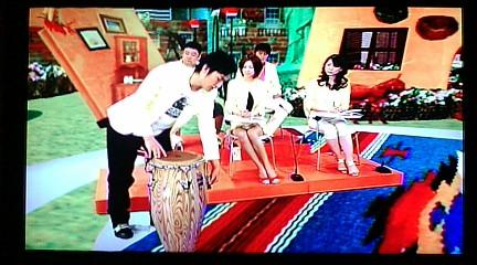 Cesar Lopez(CUBA)×KTa☆brasil セッション on NHK教育TV 3ch. 『テレビでスペイン語』_b0032617_14121766.jpg