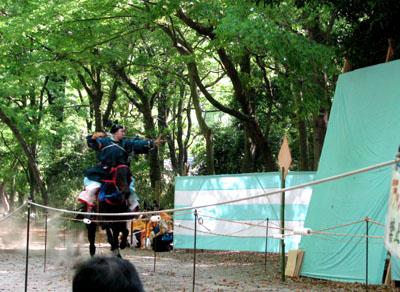 葵祭  流鏑馬神事_e0048413_2358995.jpg