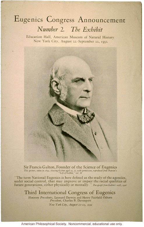 第三回国際優生学会議(1932) by ジョン・コールマン_c0139575_448846.jpg