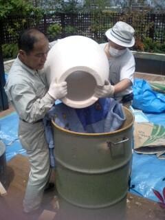 ドラム缶タンドール完成!_c0033210_11354737.jpg