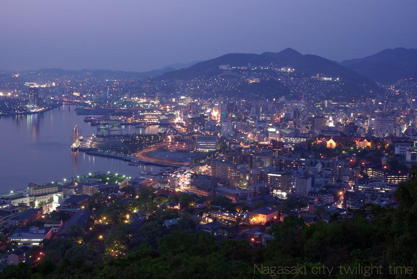 Nagasaki twilight time_b0108109_9469100.jpg