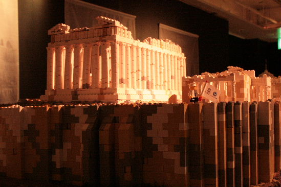 PIECE OF PEACE   『レゴ』で作った世界遺産展part2_f0082141_1553975.jpg