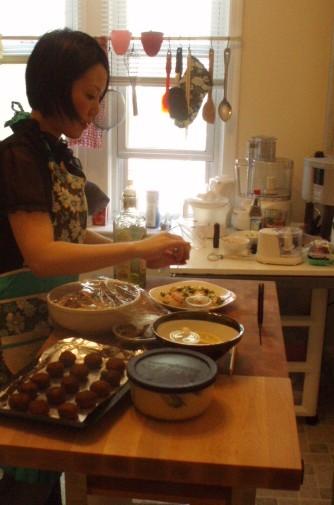 またまた奈津子さんの料理教室♪_f0095325_825554.jpg