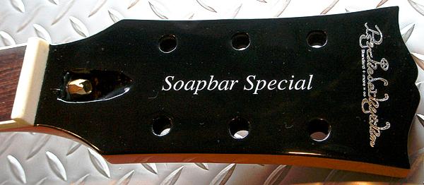 「3本限定 Soapbar Special」の1本目の塗装が完了!_e0053731_2053762.jpg