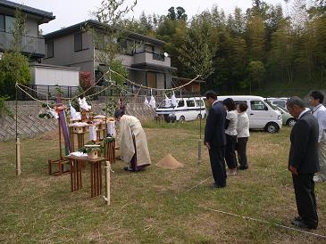 続・祝地鎮祭 N's House(益田市)_d0087595_2325432.jpg