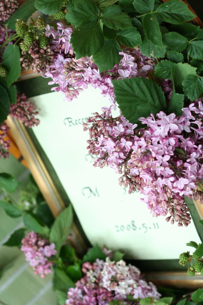 5月のしずく ラビュットボワゼ様の装花_a0042928_20271372.jpg