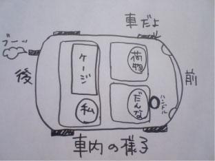 うさぎと帰省〜1日目編〜_c0155208_1092825.jpg