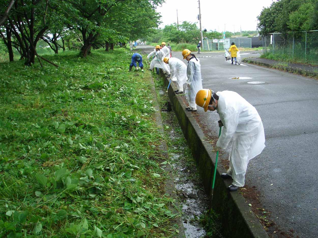 「頭数」がものを言う沼川と田宿川の清掃_f0141310_23482023.jpg