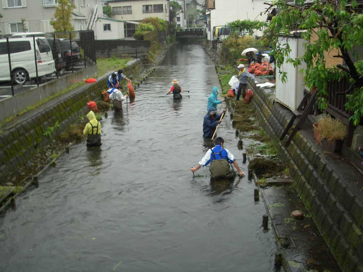 「頭数」がものを言う沼川と田宿川の清掃_f0141310_23501437.jpg