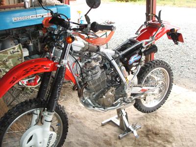 XRの車検準備_f0096216_17165245.jpg