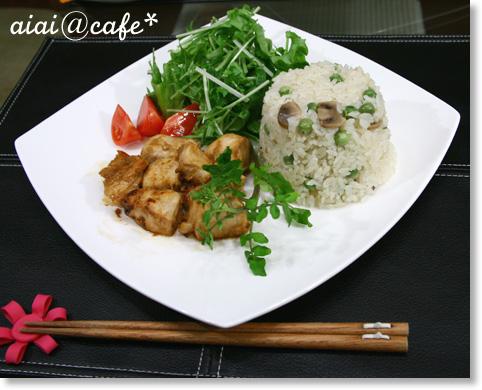 えんどう豆のバターライス_a0056451_12154128.jpg