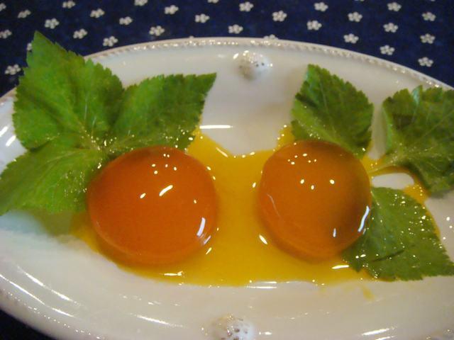 三つ葉の取り入れと卵の味噌漬け_d0100880_10512553.jpg