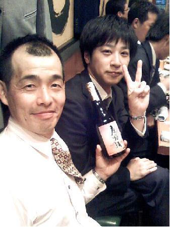 大阪コースの濃いキャラ二人_f0054720_984658.jpg
