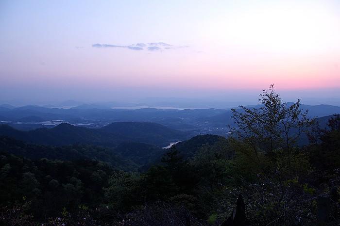 尾道水道の夕暮れ_c0152379_624190.jpg