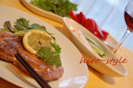 豚肉のレモンソース♪_c0128886_17423383.jpg