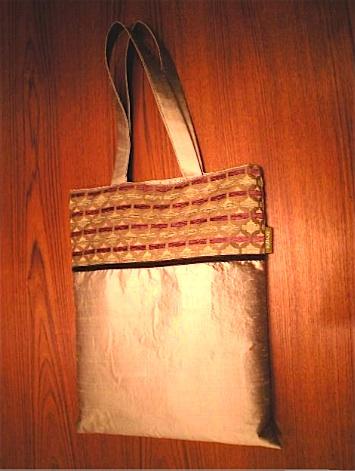 ジムトンプソンの生地を使ったバッグです!_c0157866_2081724.jpg