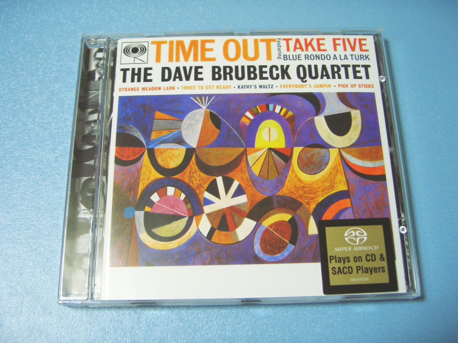 Dave Brubeck / Time Out (SACDハイブリット)_c0062649_23481327.jpg