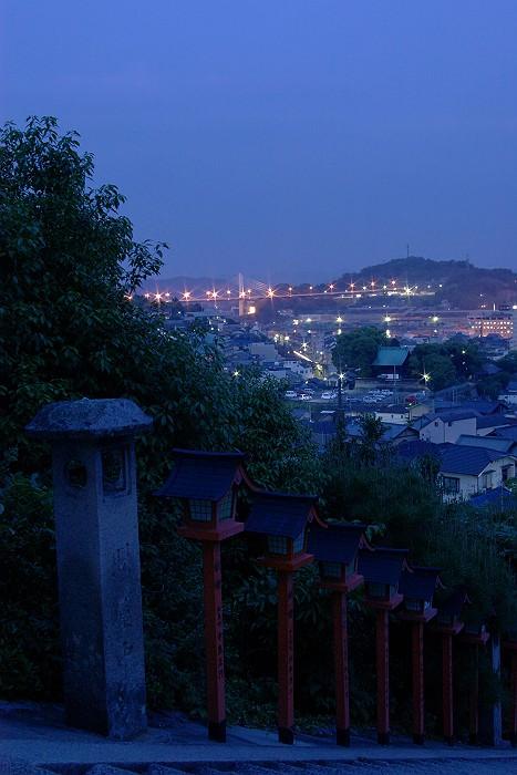 西国寺より尾道大橋を望む_c0152379_649982.jpg
