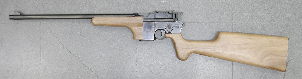 マルシン モデルガン モーゼル M712 カービン/ブローニング ハイパワー入荷_f0131995_1484323.jpg