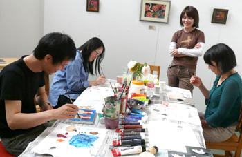 春の週末教室special【5限目】キャンバスに絵を描こう教室_a0017350_22302115.jpg