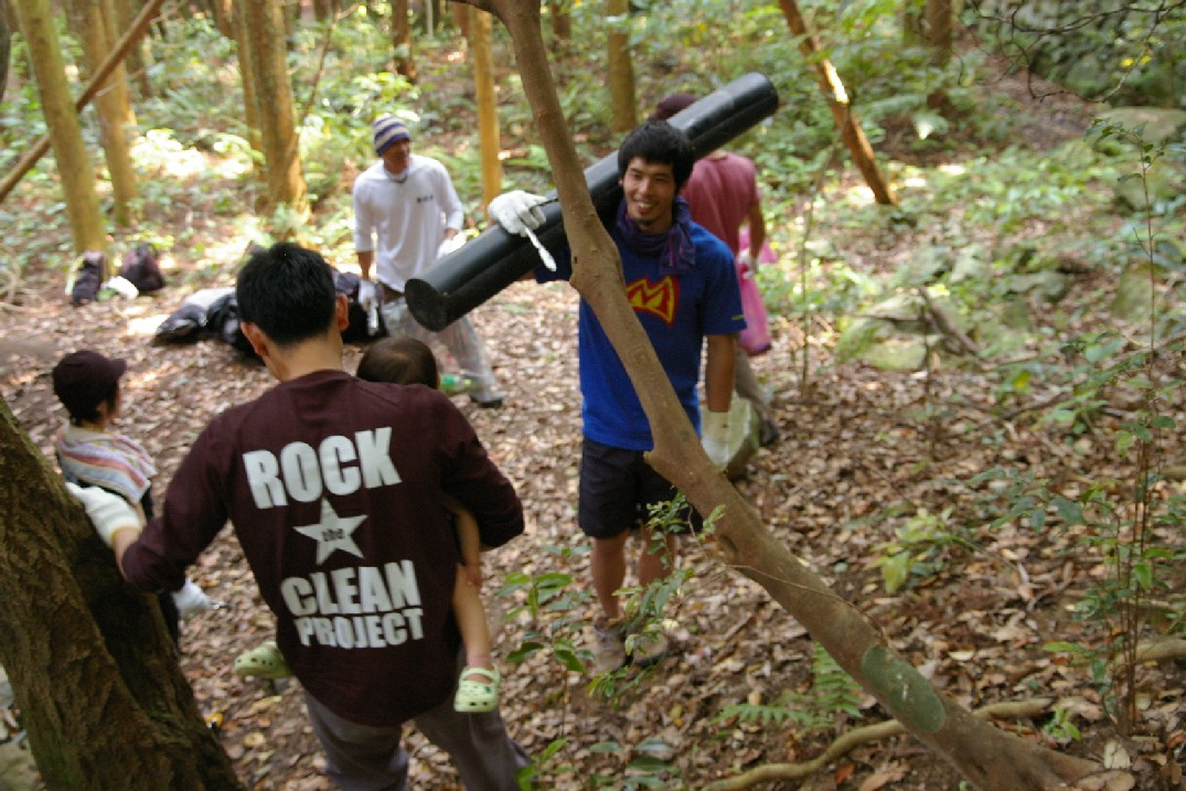 「Rock the Clean Project in鹿児島金峰山」 レポート_a0051727_18135994.jpg