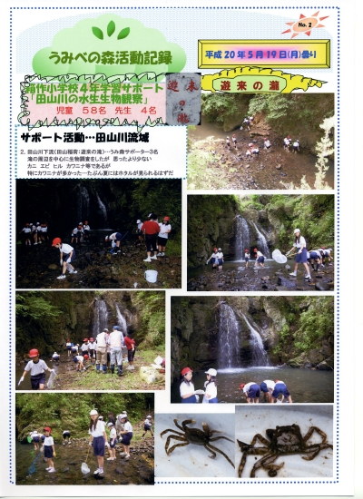 箱作小学校4年学習サポート「田山川の水生生物観察」_c0108460_23472367.jpg