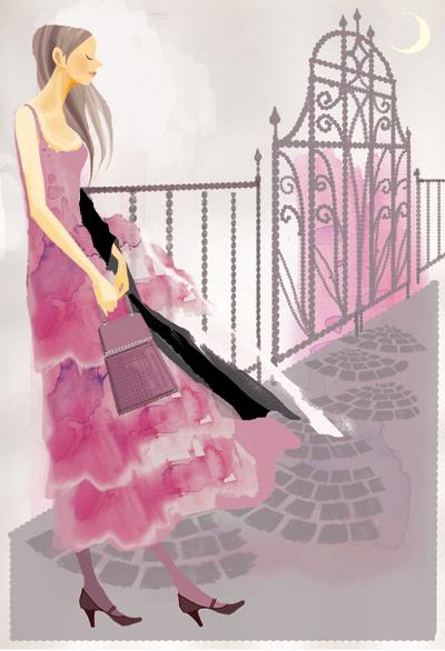 Pinkdress on moonlight_f0172313_3595115.jpg
