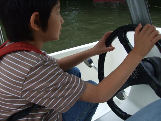 オークリーフ(久々のボート漕ぎ)_f0049672_14271179.jpg