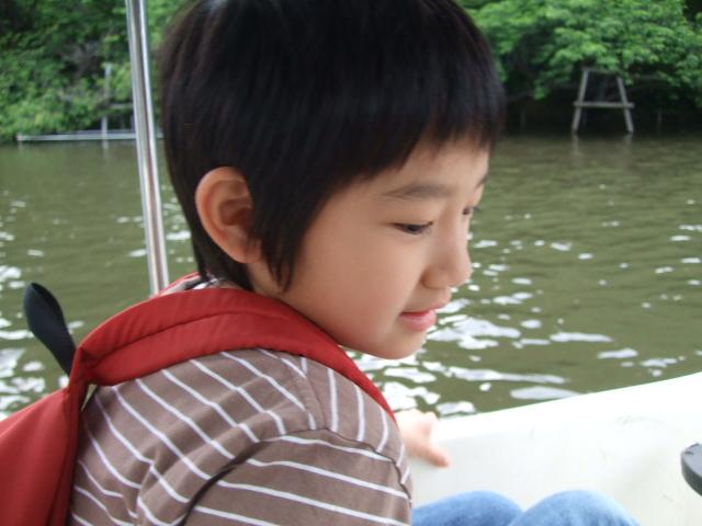 オークリーフ(久々のボート漕ぎ)_f0049672_1435245.jpg