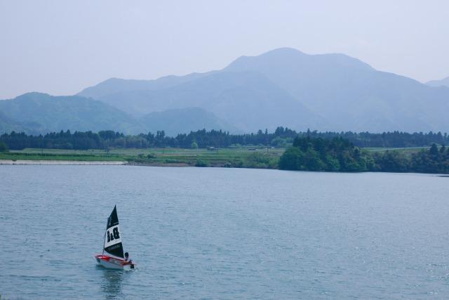 大山池 ヨット_f0138600_7141530.jpg