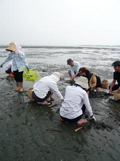 今が旬! 浜名湖で潮干狩り_c0053520_194052.jpg