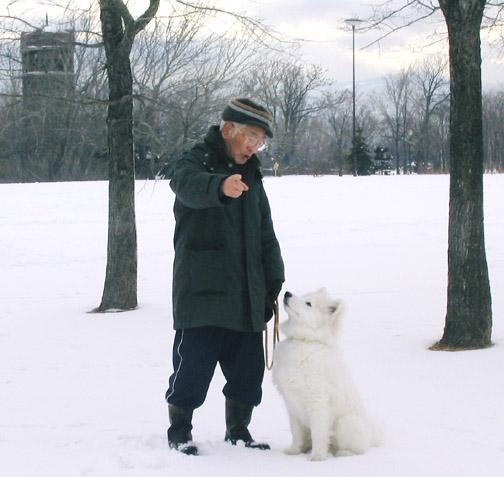 父と獅子丸_a0044521_153481.jpg