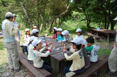 多奈川小学校1・2年生遠足サポート_c0108460_2135776.jpg