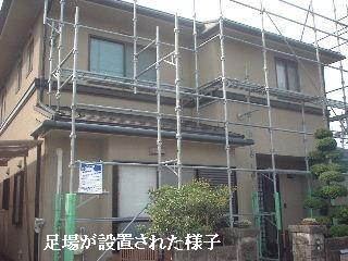 屋根の高圧洗浄作業_f0031037_15583948.jpg